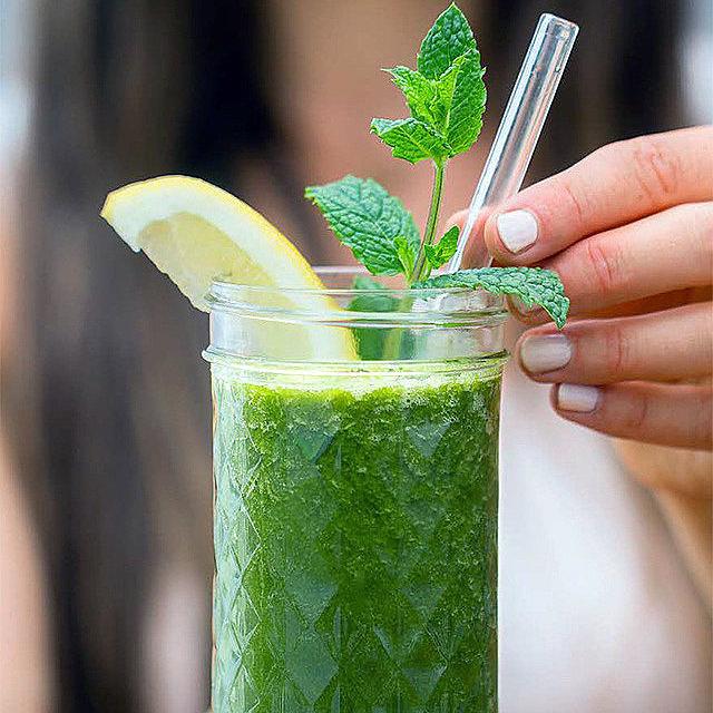 Зеленый детокс-смузи