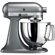 Миксер Artisan 4.8л, серебристый по контуру, KitchenAid