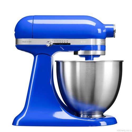 Миксер планетарный MINI 3.3л, синие сумерки, KitchenAid Легендарный планетарный миксер KitchenAid теперь легче и меньше! MINI миксер, который справится с самой сложной кулинарной задачей.