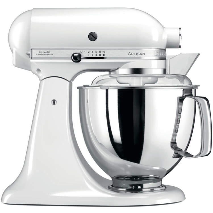 Миксер Artisan 4.8л, белый, KitchenAid