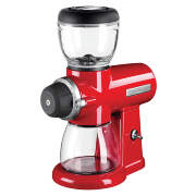 Кофемолка Artisan, красная, KitchenAid